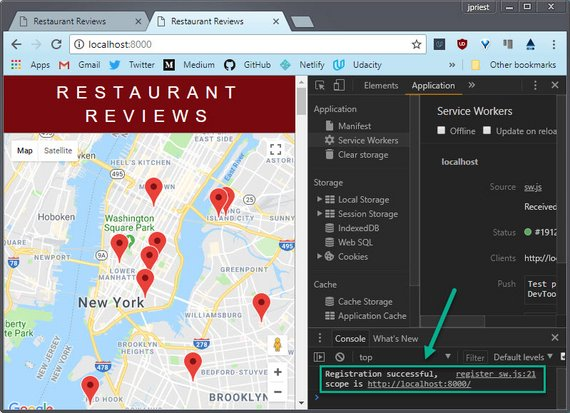 New look for Restaurant App Homepage
