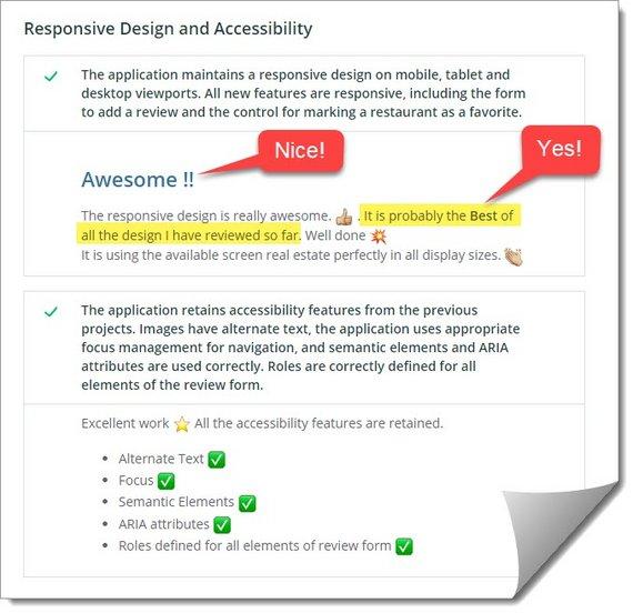 Responsive Design Results