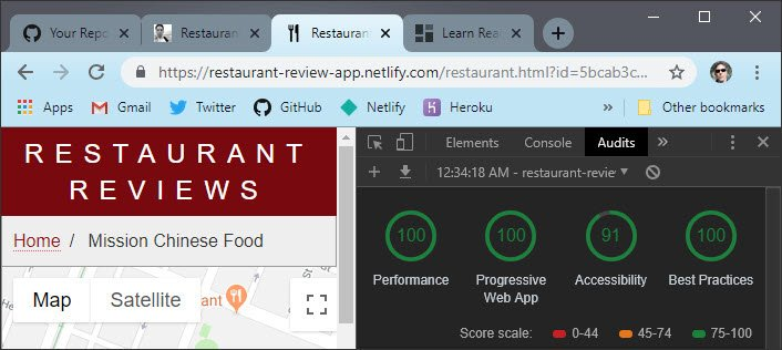 Restaurant Review App By James Priest