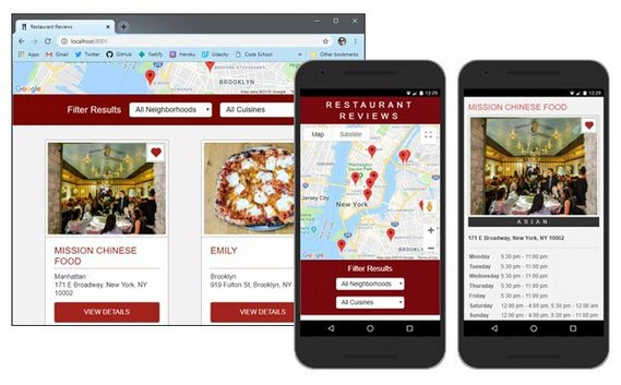 Restaurant Review App by james-priest
